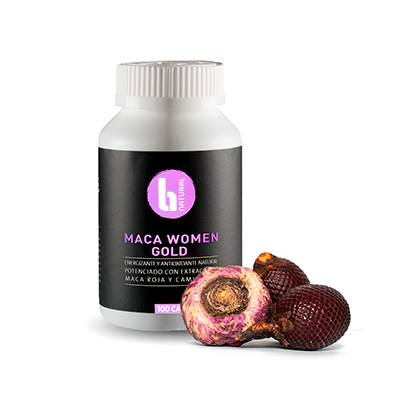 Maca Women Gold 100 x 500 mg - BNatural