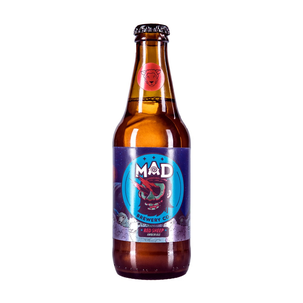 Cerveza - Red Sheep Amber Ale 330 Ml - MAD