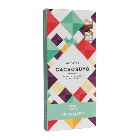 Chocolate - Piura Select 70% Cacao 70 Gr - Cacaosuyo
