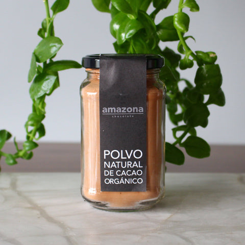 Polvo Natural de Cacao Orgánico 200 gr - Amazona Chocolate