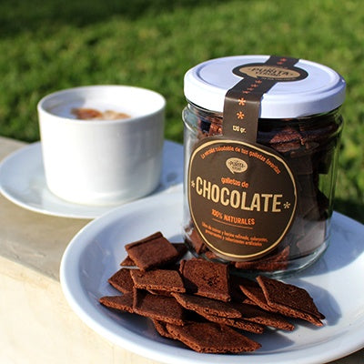 Galletas de Chocolate 130 gr - La Purita Verdad