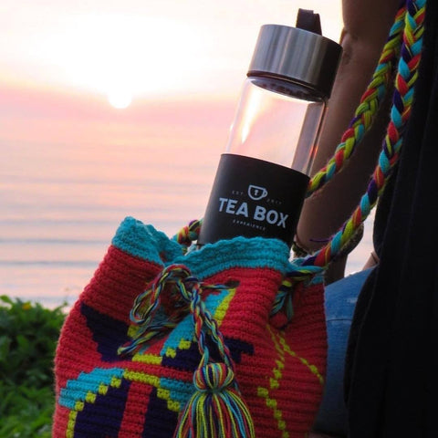 Termo Infusor de vidrio de 450 ml - Tea Box