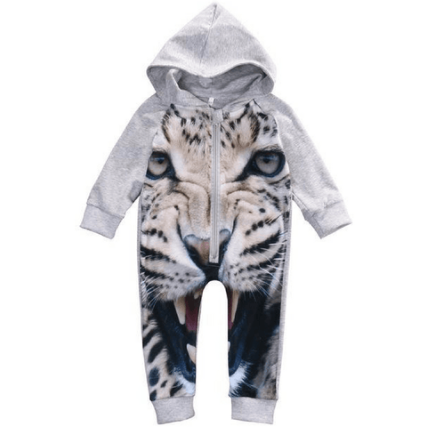 Cute Tiger Outfit Baby Boy Jumpsuit