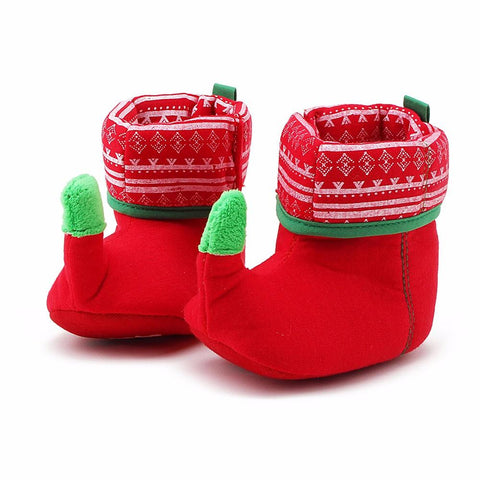 Unique Christmas Design Boots