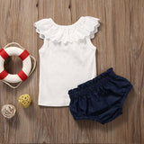 Cute Summer Baby Girl Set