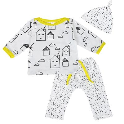 Cute Geometric Shapes Baby Outfit Set