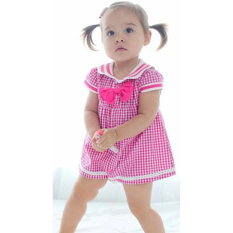 Cute Pink Baby Girl Dress