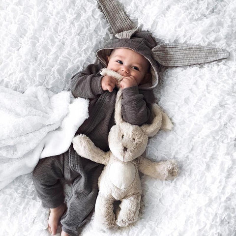 Cute Bunny Baby Costume