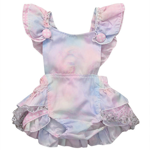 Cute Multicolor Baby Dress