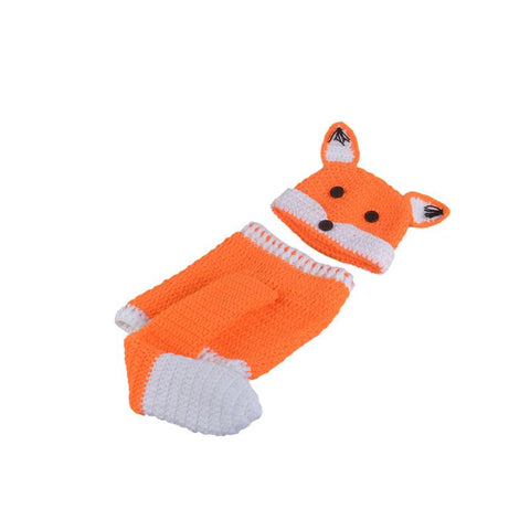 Little Fox Costume Baby Girl Outfit