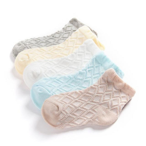 5 Pair/lot Summer Cotton Socks