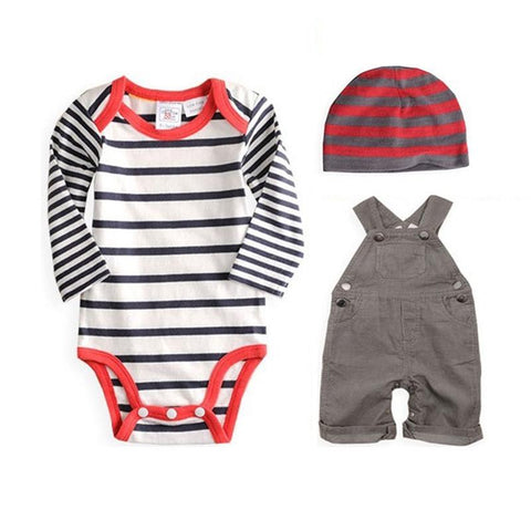 Cute Spring Baby Boy Outfit Set