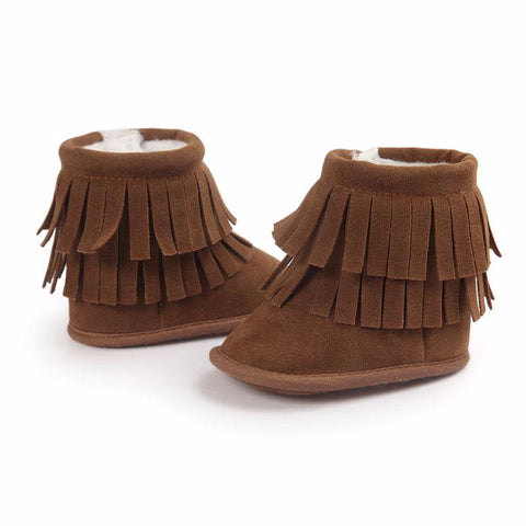 Soft Winter Moccasins
