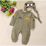 Baby Pilot  Outfit Set