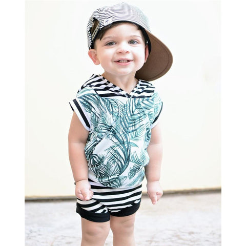 Tropical Baby Boy Outfit Set