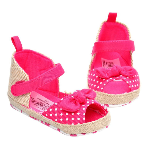 Pink Toddler Bowknot Sandals