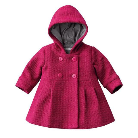 Warm Winter Jacket Baby Girl Soft Outfit