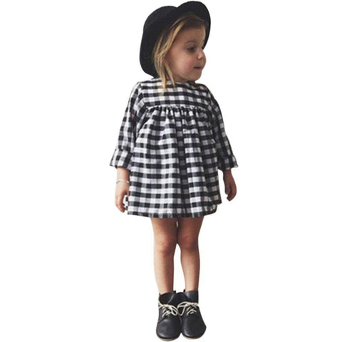 Cute Baby Girl Dress Casual Outfit