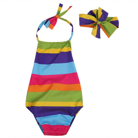Colorful Summer Baby Outfit Set