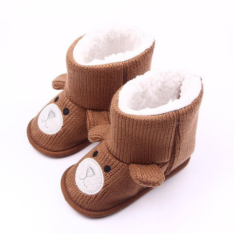 Cotton Bear Winter Boots