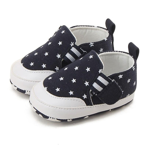 Star Pattern Casual Sneakers