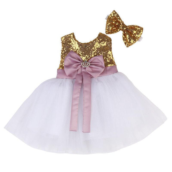 Sweet Bridesmaid Dress Baby Girl Outfit