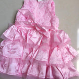 Pink Princess Dress Baby Girl Outfit