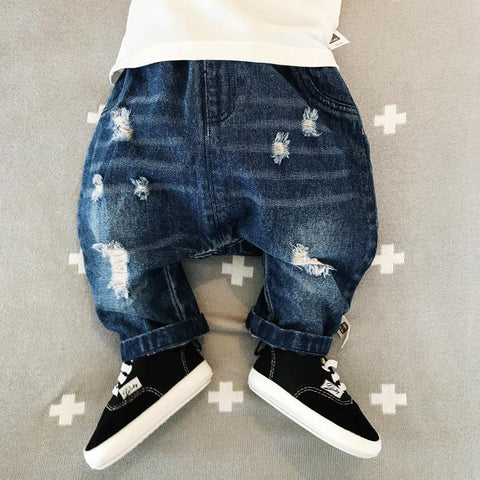 Cute Baby Girl Jeans Casual Trousers