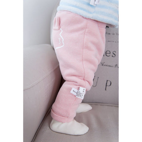 Lovely Casual Pants Cute Baby Girl Cartoon Trousers