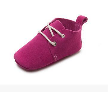 Genuine Leather Newborn Mocassins