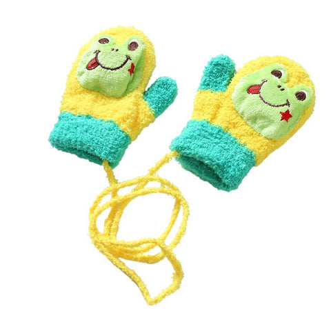 Cute Winter Baby Gloves