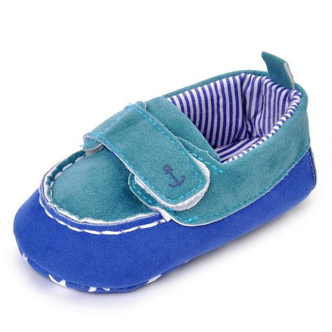 Newborn Anchor Mocassins