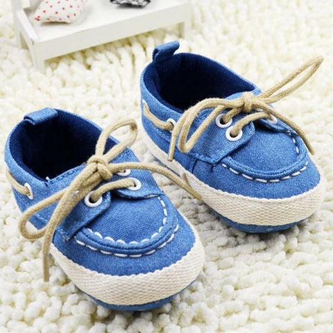 Blue Soft Sneakers