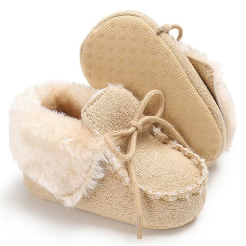 Cotton Plush Winter Warm Boots