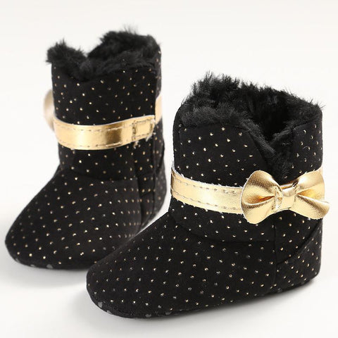 Non-Slip Polka-Dot Winter Boots