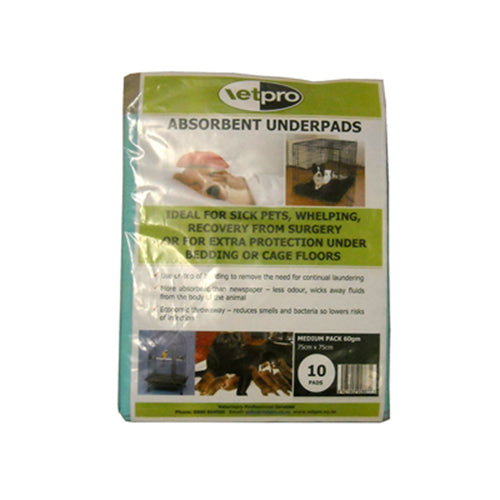 Absorbant Underpads - Medium