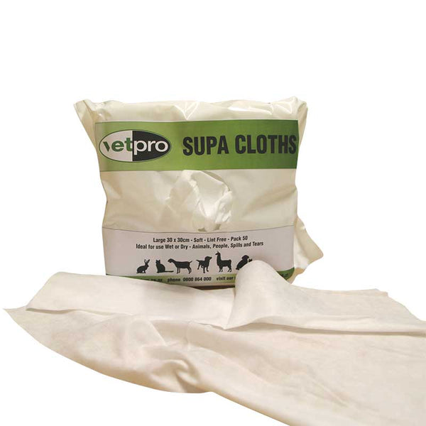 VP Supa Cloths - Pack of 50