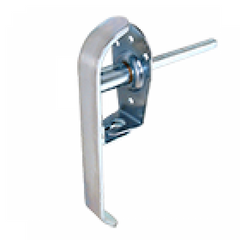 Handle 073-SS Brushed Stainless Padlocking Handle