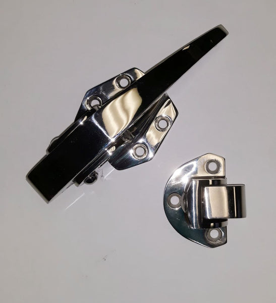 507 Lock Polished Stainless Refrigeration Lock