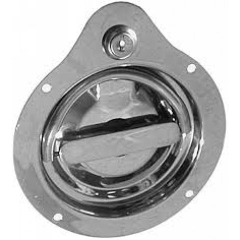 D-Ring Lock  2103-S-Ss 3 Point Stainless Twist Action Flush Mount