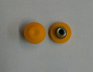 T-Nut Encapsulated Yellow 1/4-20 X .437