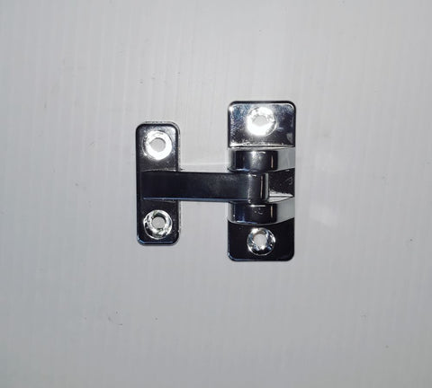 HINGE FLUSH CHROME MINI T HINGE