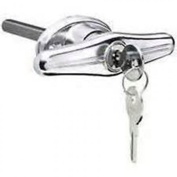 Handle T Type Chrome 303 Key Locking