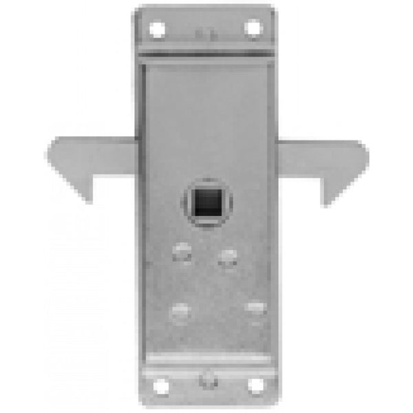 "Sliding Door Inside Latch 42    Receives 5/16"" Square Shank"
