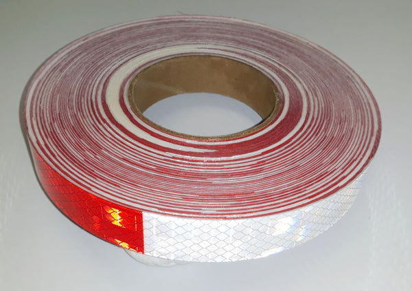 CONSPICUITY RED/WHITE TAPE 9CT-983-326-NL