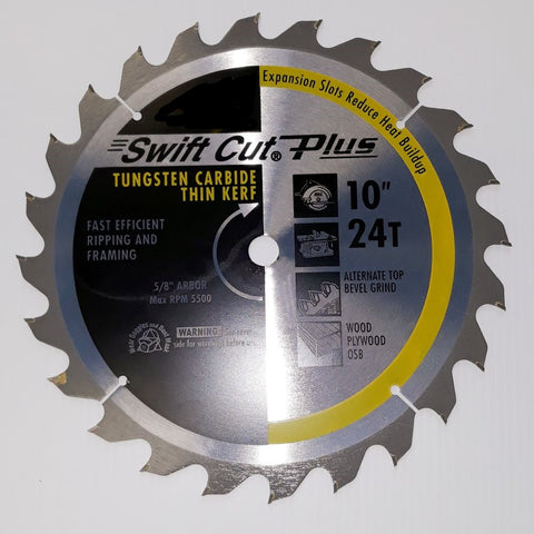"10"" X 24T .110 THICK SAW BLADE"