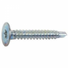 "Liner Screws 10-16 X 1"" 6 Lobe T25 Wafer Head"