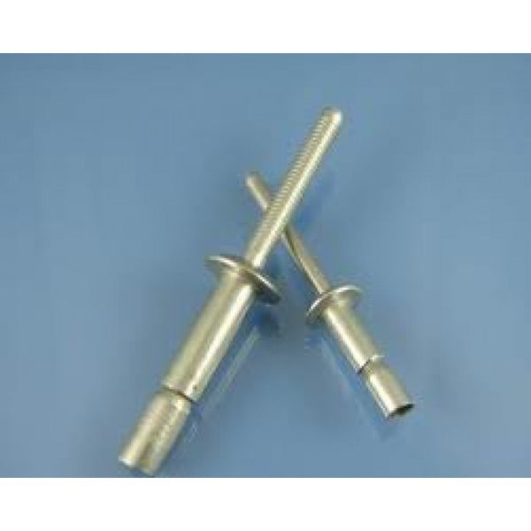 Mono Bolt / Magna Lock Style Structural Rivets All Aluminum 1/4