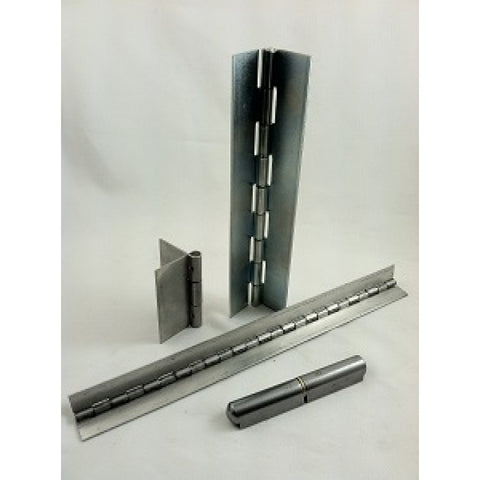 "Continuous Hinge Chss074048x48   48"" Lengths  3"" Open  Stainless"