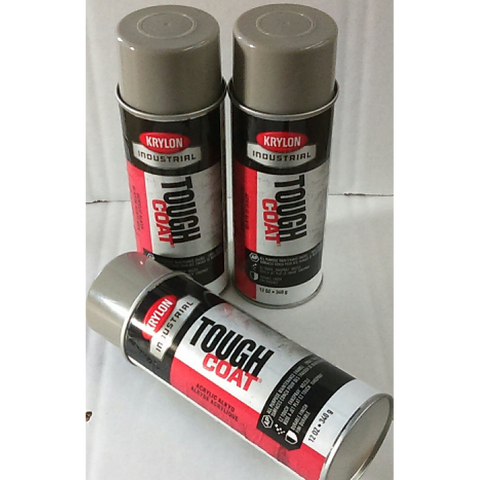 Krylon Tough Coat Light Gray